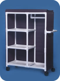 Garment Rack with Shelves
