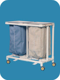Linen Hamper with Foot Pedals