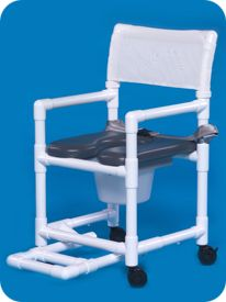 Standard Line Open Front Soft Seat Shower Chair Commode