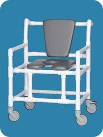 Oversize Open-Front Elite Seat Shower Chair